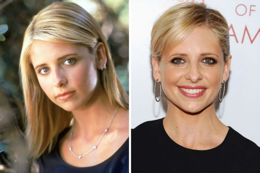 Sarah Michelle Gellar Then Now | Brain Berries