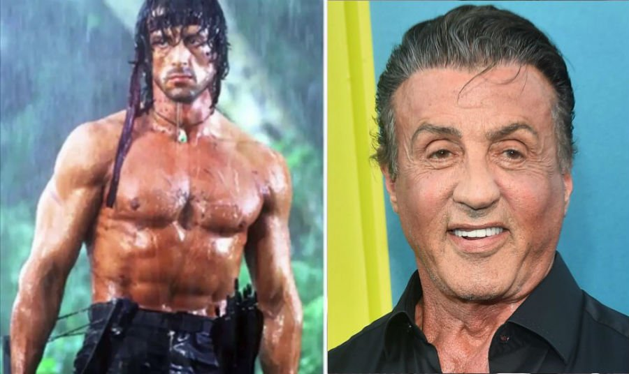 Sylvester Stallone Then Now | Brain Berries