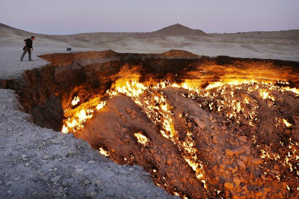 The Door to Hell, Turkmenistan | Zestradar