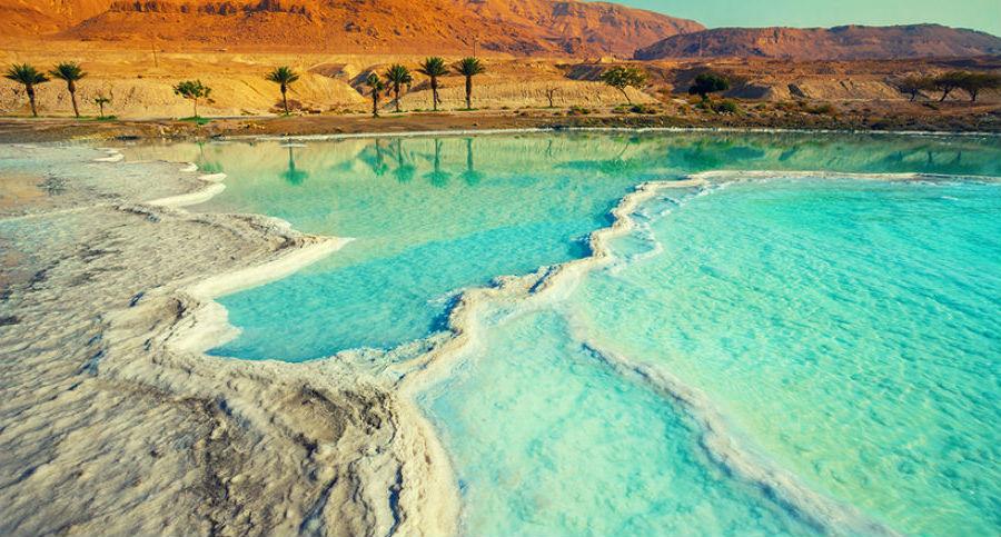 Мертвое море  | 10 популярных туристических мест, которые скоро могут исчезнуть | BrainBerries