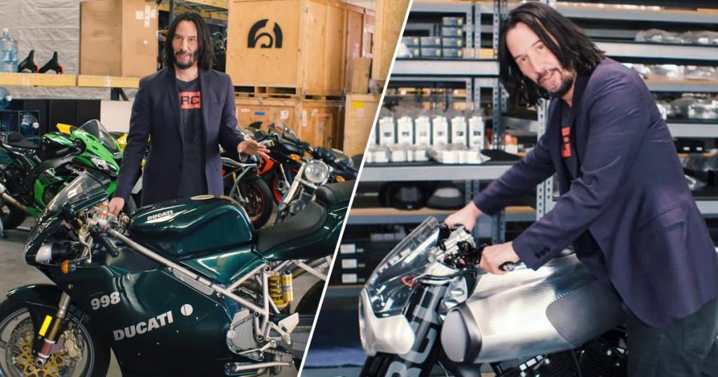 $23,000 Ducati 998 | 8 Awesome but Ridiculously Expensive Things Bought by Keanu Reeves Brain Berries