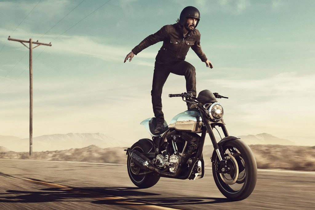 $78,000 Arch Krgt-1 | 8 Awesome but Ridiculously Expensive Things Bought by Keanu Reeves Brain Berries