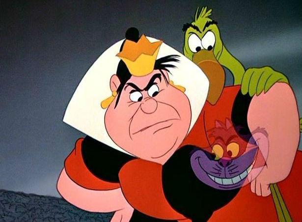 Queen of Hearts, Alice in Wonderland | Greatest Disney Female Villains | Brain Berries