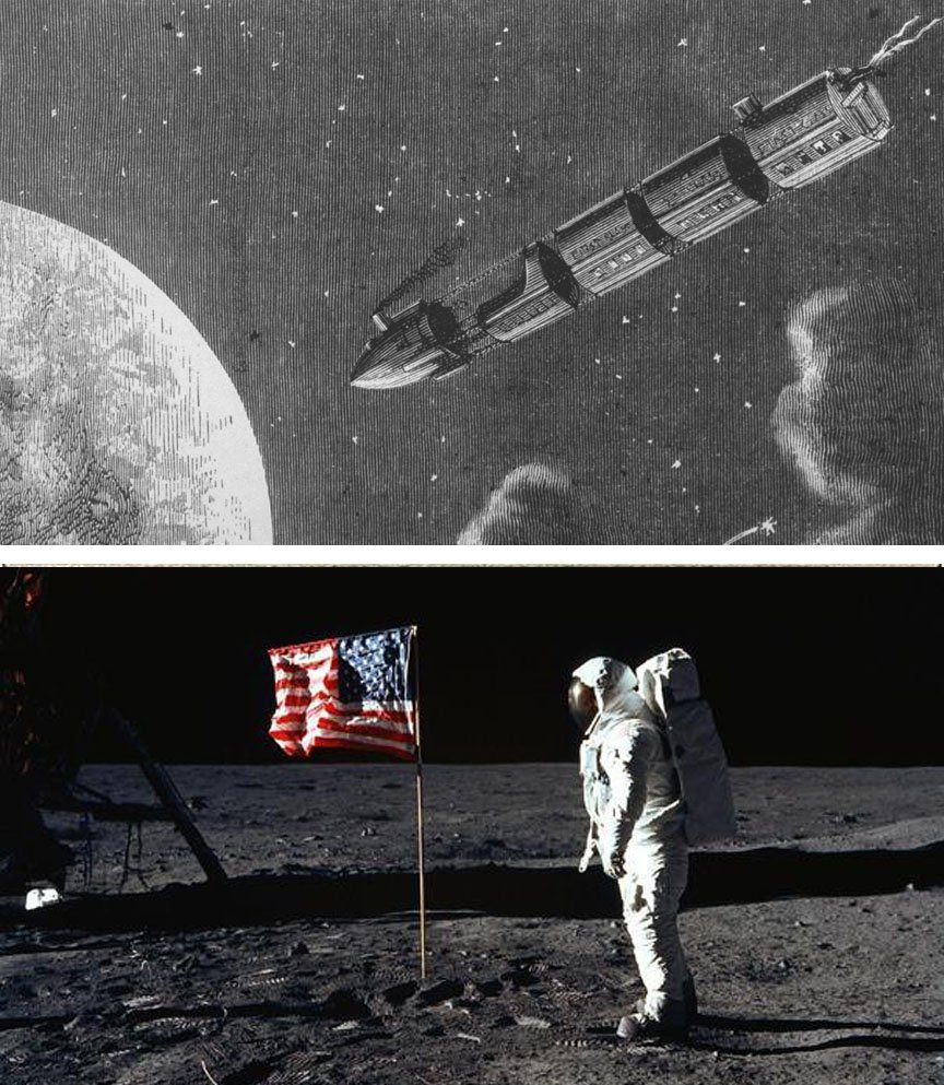 Apollo 11 | 10 Modern Things That Were Predicted Hundreds Of Years Before They Appeared | Brain Berries