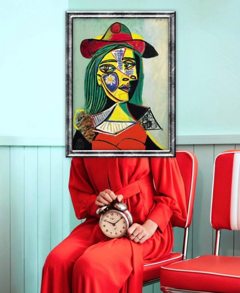 Out Of The Frame: Classic Art Reimagined In Modern Fashion Photography #9 | ZestRadar
