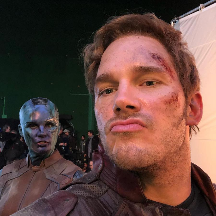 Avengers: Endgame | Behind The Scene Selfies and Snapshots | Brain Berries