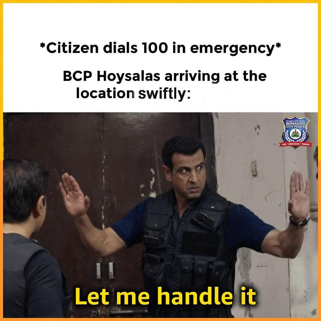 Bengaluru City Police Uses Memes to Attract New Followers | Brain Berries