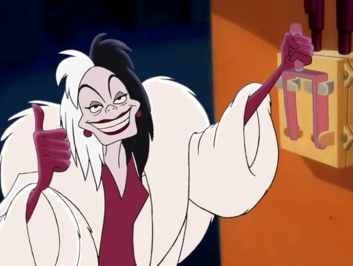 Cruella De Vil, 101 Dalmatians | Greatest Disney Female Villains | Brain Berries