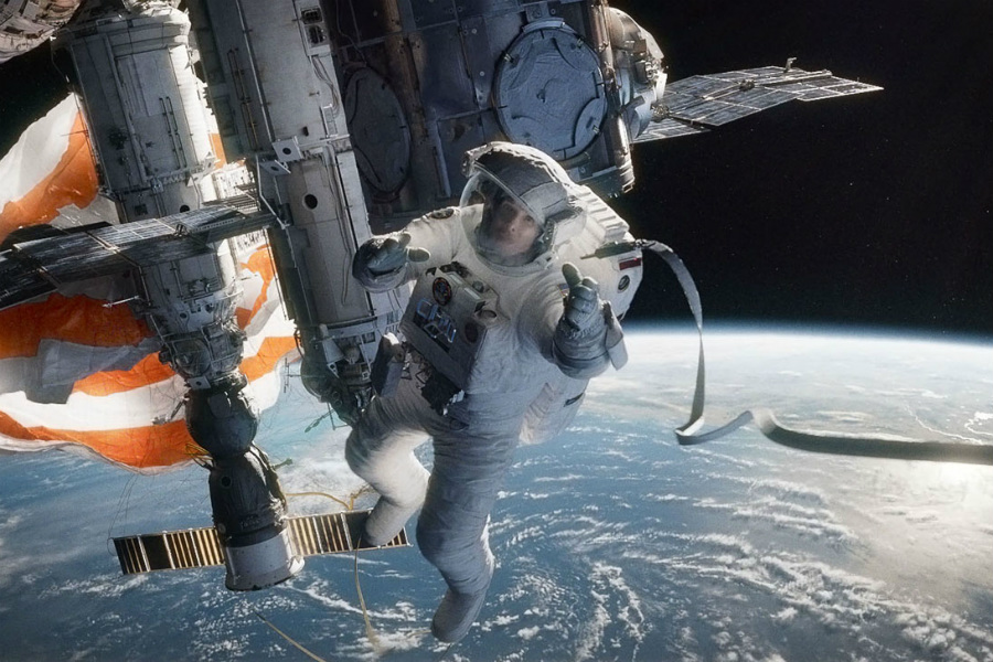 Gravity | The 10 Best Space-Themed Movies Of All Times | ZestRadar