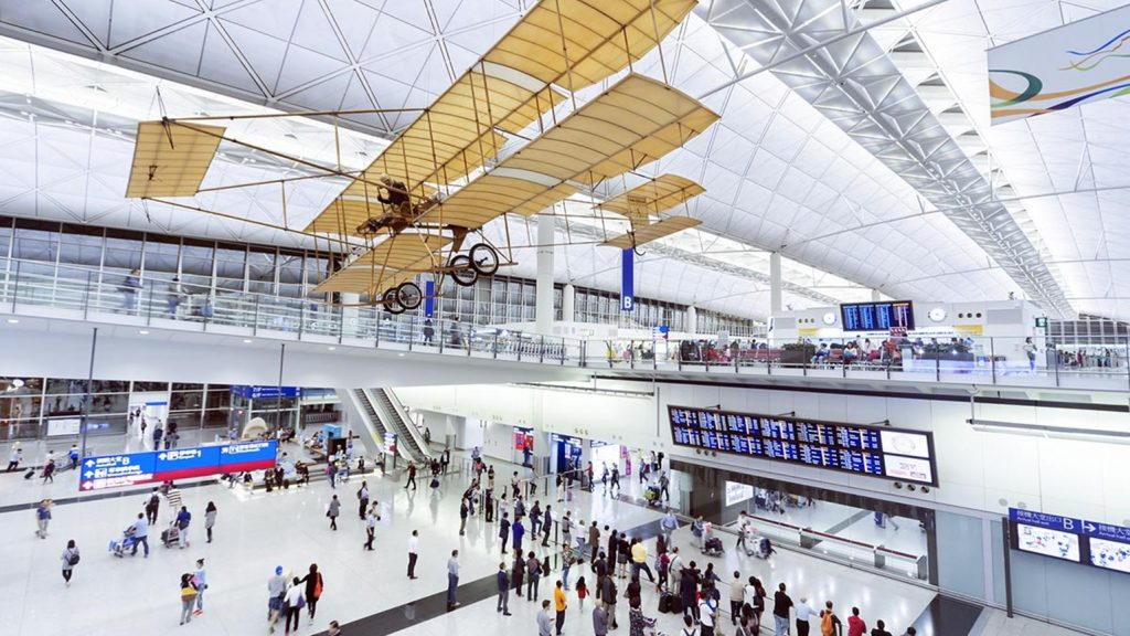 Top 7 AirportsHong Kong International Airport #2 | Brain Berries