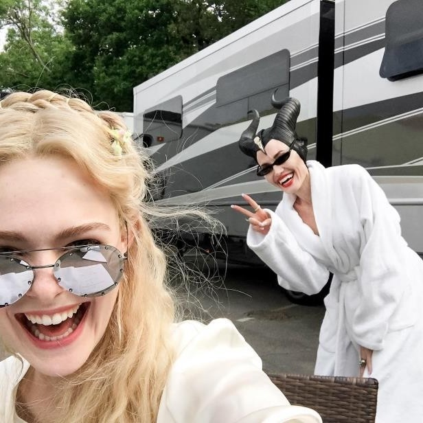 Maleficent | Behind The Scene Selfies and Snapshots | Brain Berries