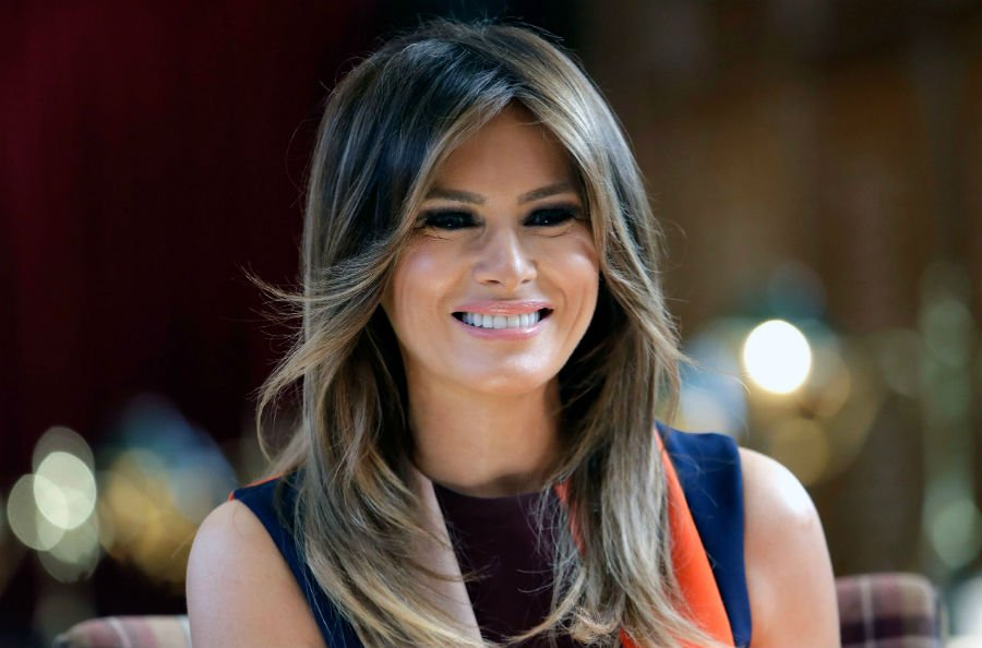 Melania Trump  | US Most Beautiful First Ladies  | ZestRadar