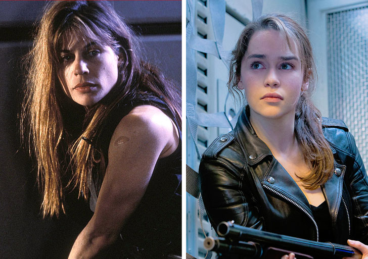 Sarah Connor | What Iconic Female Characters Look Like In Remakes (Lara Croft Will Really Surprise You) Brain Berries