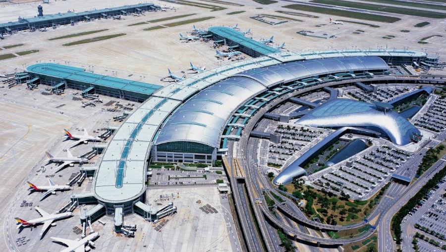 Top 7 Airports airport Seoul Incheon International Airport | Brain Berries