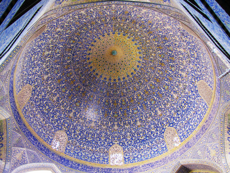 Shah Mosque, Isfahan | The World's Most Beautiful Ceilings | Brain Berries
