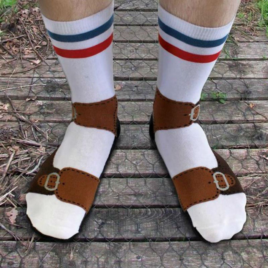 Socks with Sandals | 10 Inventions That Make Us Question Humanity | BrainBerries