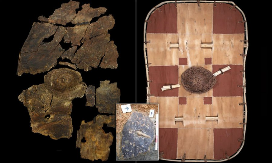 The Leicestershire Bark Shield | 6 Strangest Archaeological Discoveries | BrainBerries