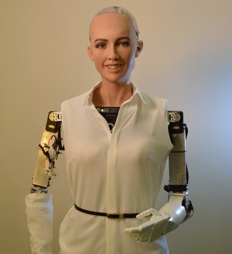 Sophia robot   8 Most Amazing Advanced Robots That Will Change Our World   Brain Berries