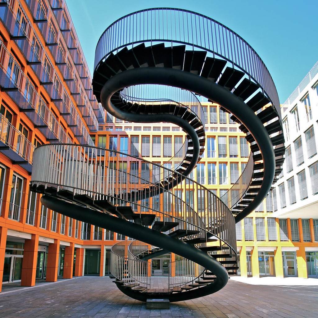 Umschreibung, Germany | 15 Most Astonishing Staircases In the World | Brain Berries