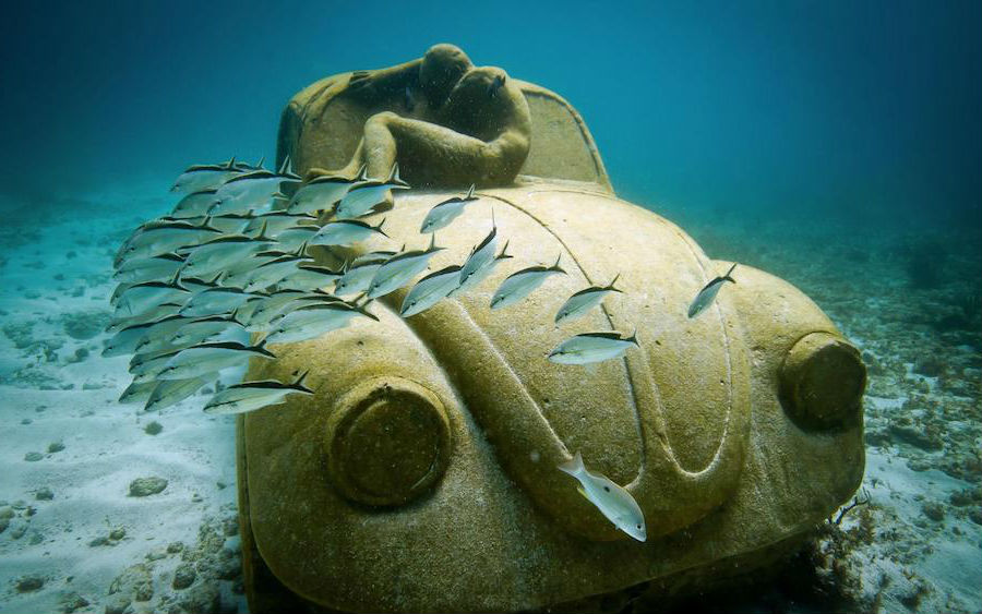 Underwater Museum in Mexico | 9 Mysterious Underwater Objects Very Few People Know About | Brain berries