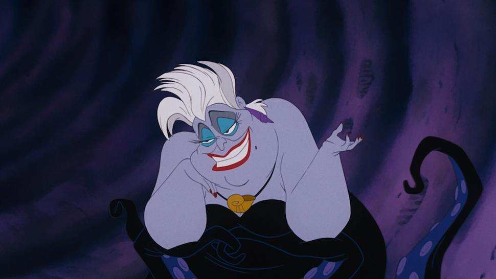 Ursula, The Little Mermaid | Greatest Disney Female Villains | Brain Berries