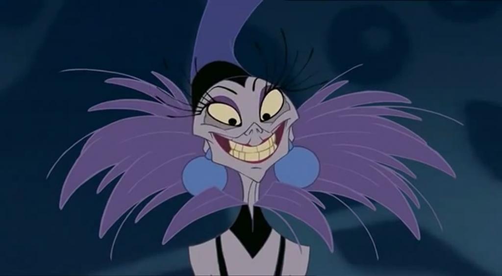 Yzma, The Emperor's New Groove | Greatest Disney Female Villains | Brain Berries
