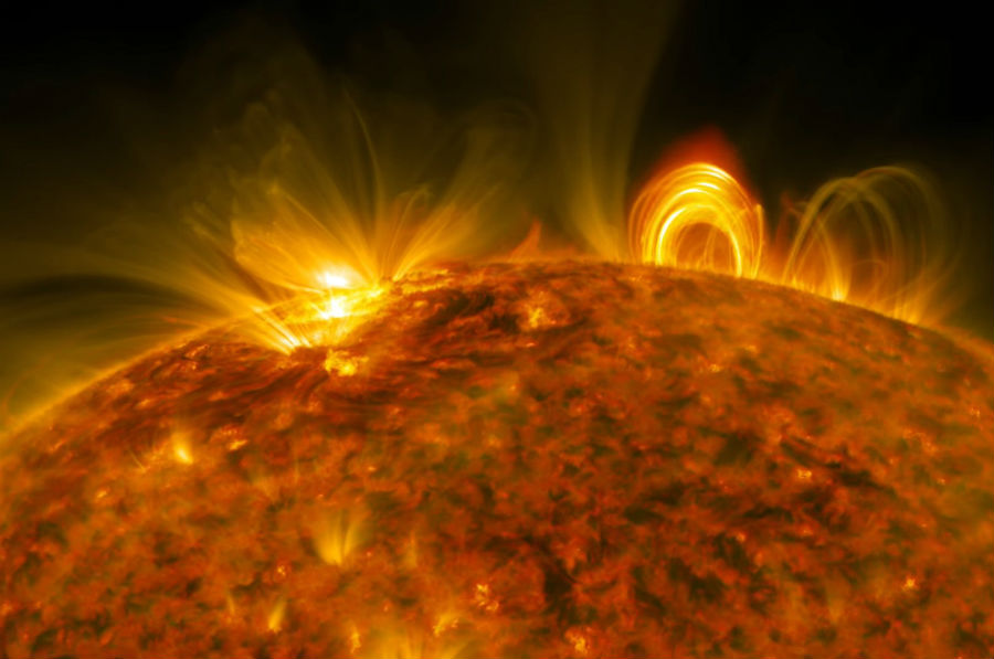 A Big Solar Flare | 6 Apocalyptic Scenarios That Could (But Hopefully Won't) Happen Today | Brain Berries