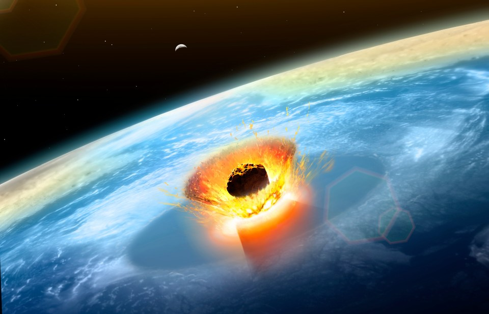 The asteroid | 8 Things That Will Happen If an Asteroid Hits Earth | Brain Berries