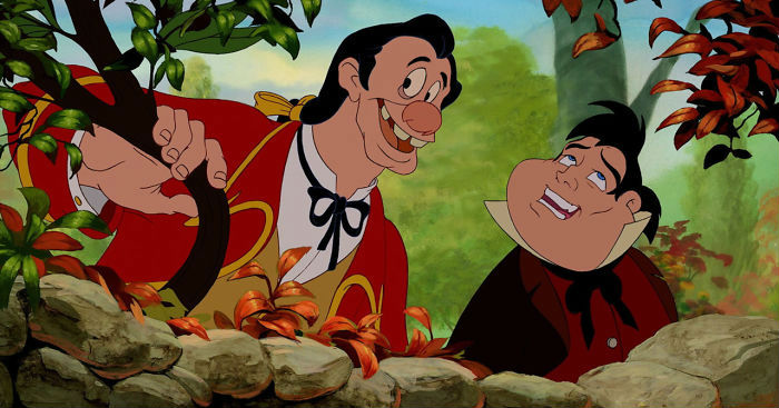 Gaston and LeFou | Disney's House Of Horrors or What Disney Characters Would Look Like If They Used Face Swap | ZestRadar