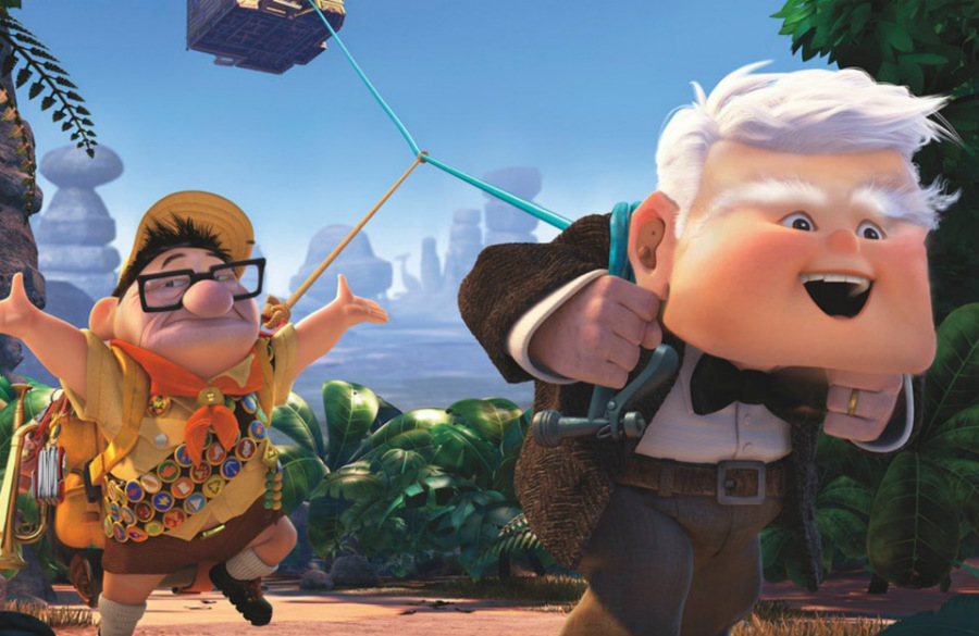 Mr Fredricksen and Russell | Disney's House Of Horrors or What Disney Characters Would Look Like If They Used Face Swap | ZestRadar