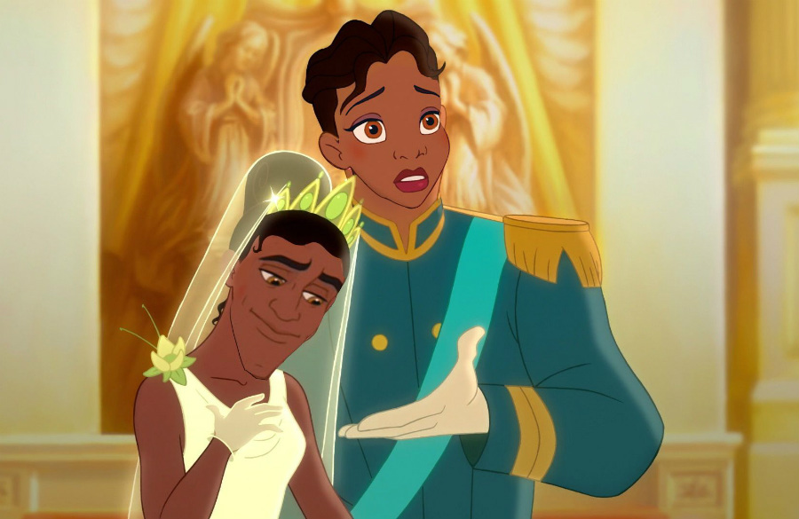 Tiana and Naveen | Disney's House Of Horrors or What Disney Characters Would Look Like If They Used Face Swap | ZestRadar