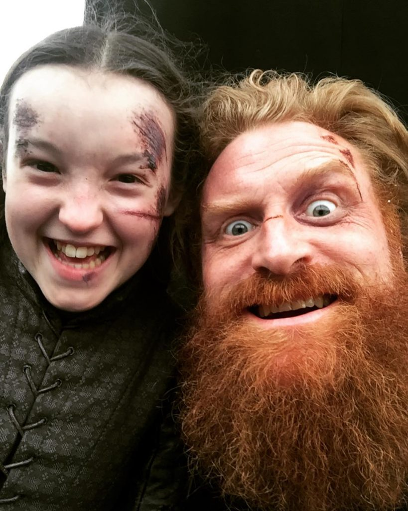Game of Thrones #4 | Behind The Scene Selfies and Snapshots | Brain Berries