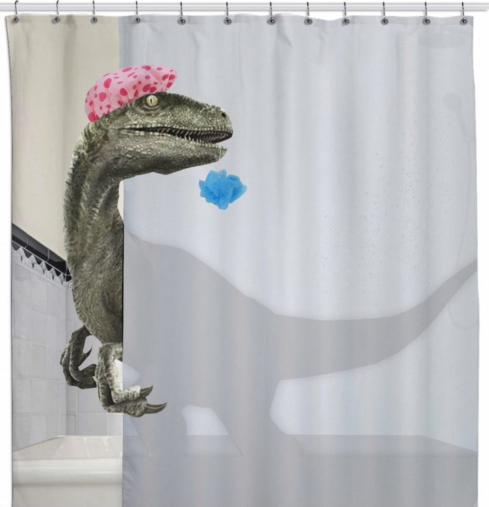 28 Geeky and Hilarious Shower Curtains For Adult #11 | Brain Berries