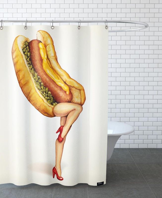 28 Geeky and Hilarious Shower Curtains For Adult #16 | Brain Berries