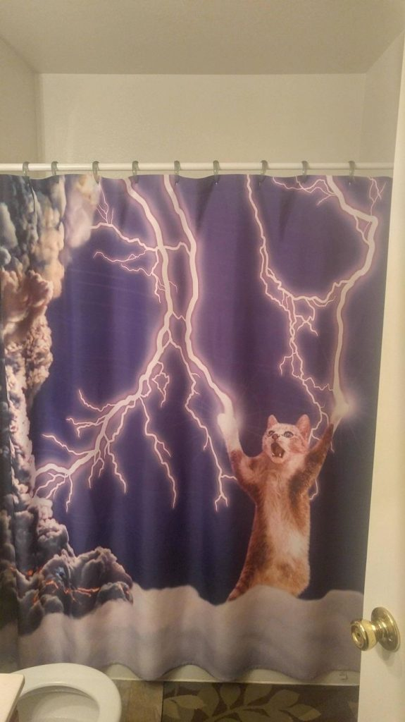 28 Geeky and Hilarious Shower Curtains For Adult #20 | Brain Berries