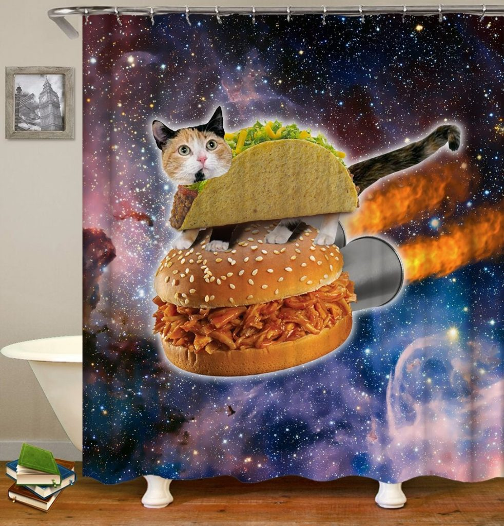 28 Geeky and Hilarious Shower Curtains For Adult #21 | Brain Berries