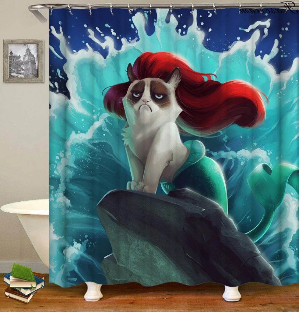 28 Geeky and Hilarious Shower Curtains For Adult #26 | Brain Berries