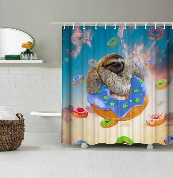 28 Geeky and Hilarious Shower Curtains For Adult #4 | Brain Berries