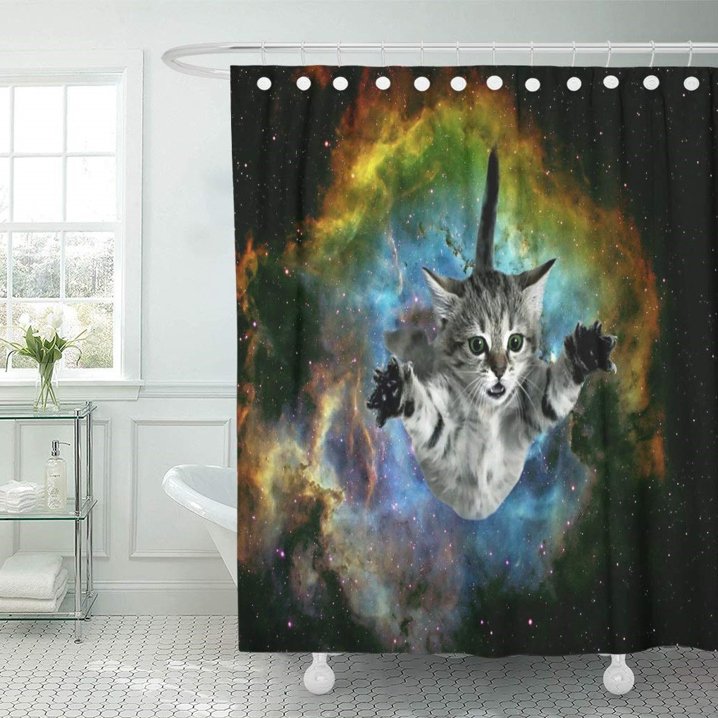 28 Geeky and Hilarious Shower Curtains For Adult #6 | Brain Berries