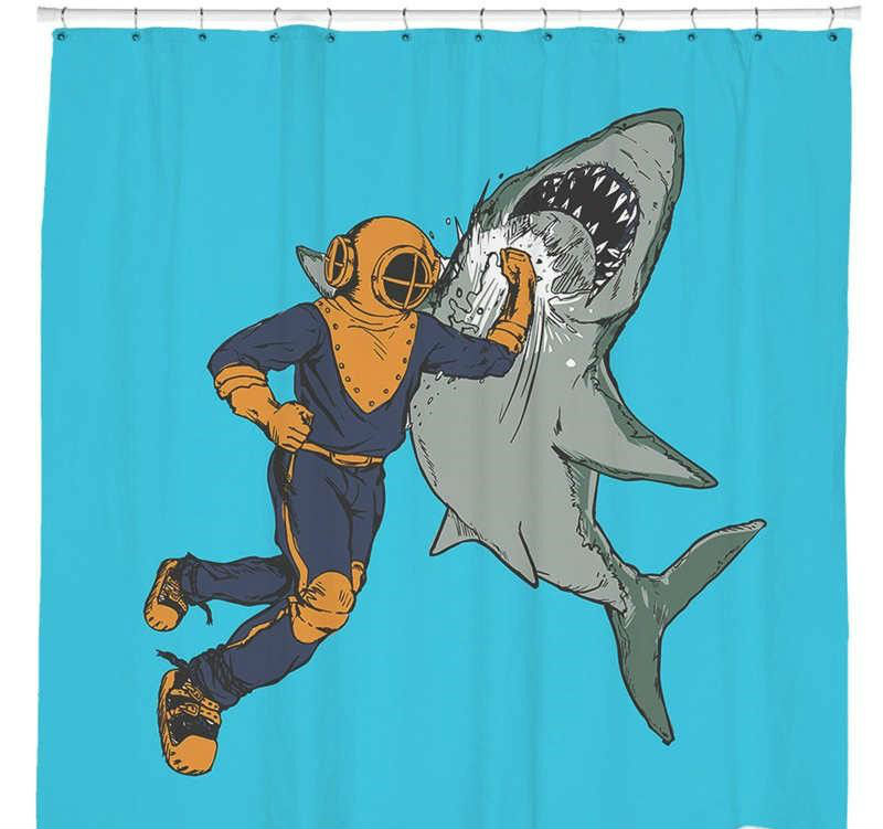 28 Geeky and Hilarious Shower Curtains For Adult #8 | Brain Berries