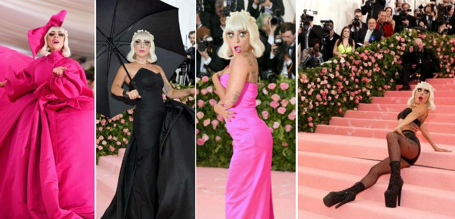 Переодевание Леди Гаги прямо на красной дорожке бала Института красоты | Топ-6 крутейших перформансов с участием| Brain Berries