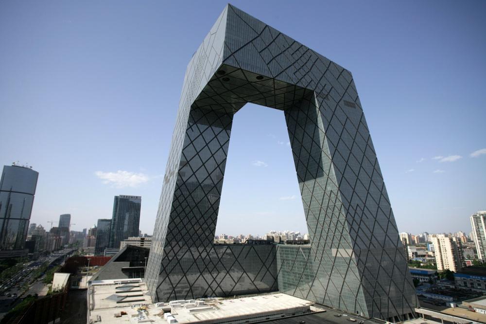 Штаб квартира китайского телевидения CCTV, Пекин | Zestradar