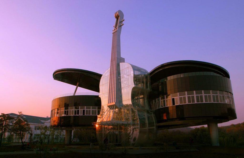 Дом «Фортепиано и скрипка», Хуайнань  | Zestradar