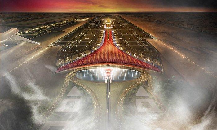 Новый терминал международного аэропорта, Пекин | Zestradar