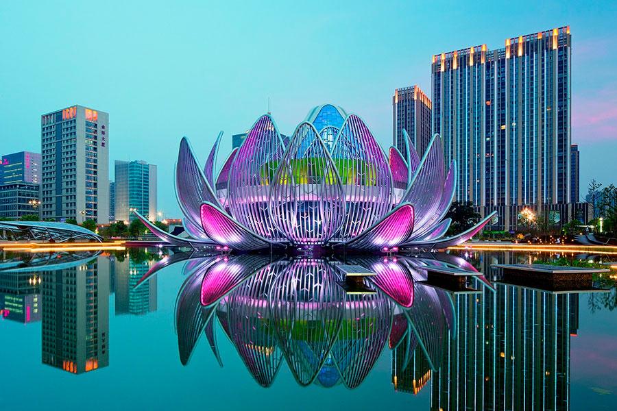 Здание «Лотос», Чанчжоу | Zestradar