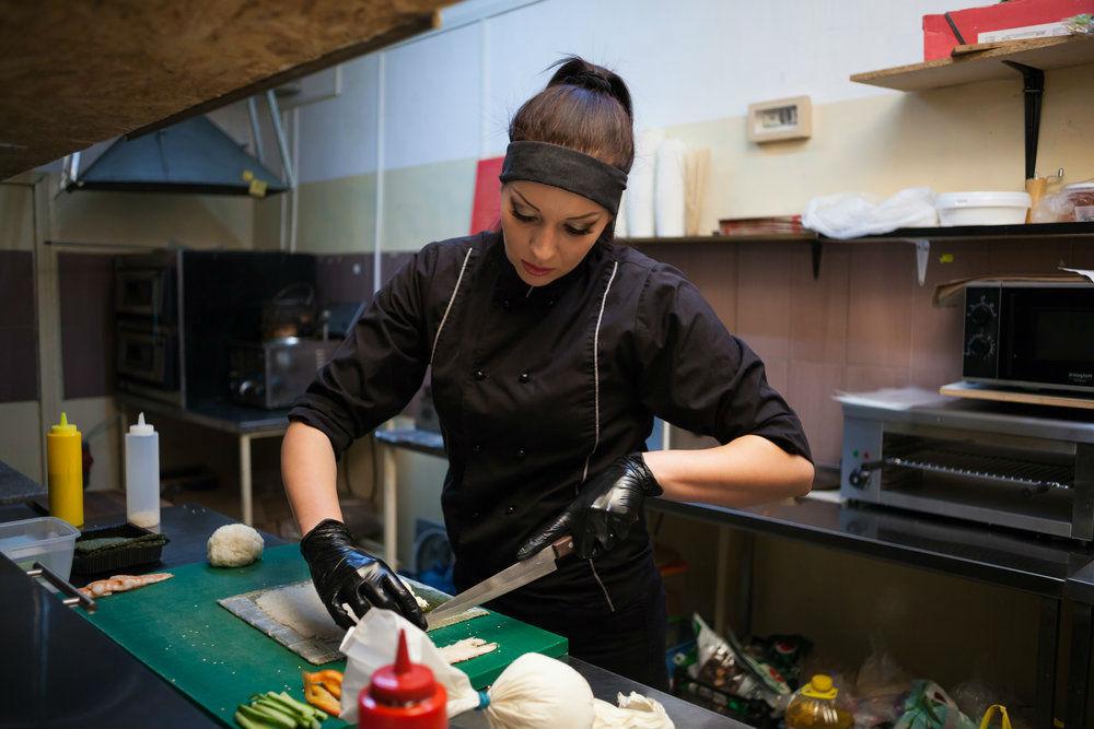 Woman Chef   Brain Berries
