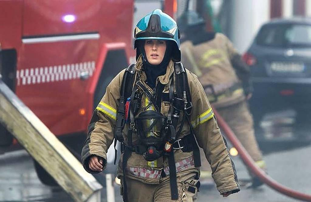 Woman Firefighter   Brain Berries
