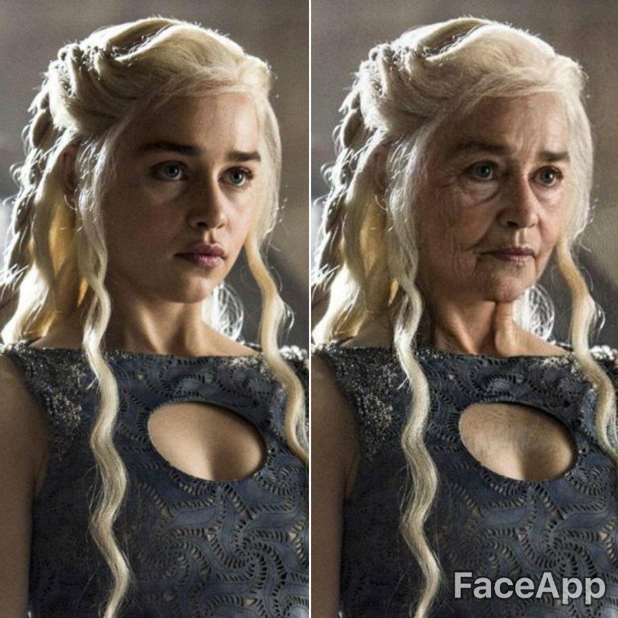 Daenerys Targaryen | FaceApp Old Face Challenge Accepted | ZestRadar