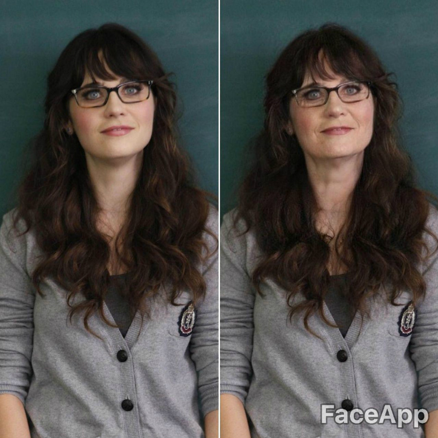 Jess, The Nwe Girl | FaceApp Old Face Challenge Accepted | ZestRadar