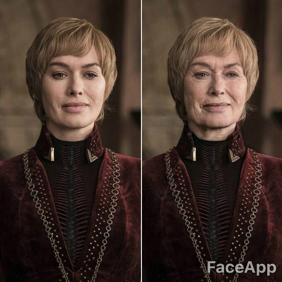Cersei Lannister | FaceApp Old Face Challenge Accepted | ZestRadar
